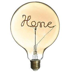 Lâmpada LED 4W Home Vintage Branco Quente