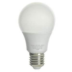 Lâmpada LED Bulbo 9W Residencial Branco Neutro Bivolt | Inmetro