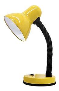 Luminária De Mesa 30W Abajur Mini Office Amarelo