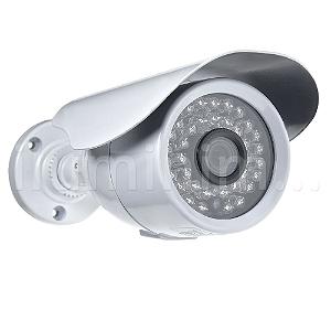 Câmera Segurança de LED Bullet Infravermelho AHD 36 LEDs 1200 Linhas