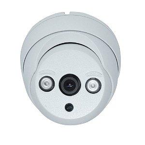 Câmera Segurança de LED Dome Infravermelho AHD 4000TVL