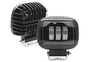 Farol de Milha LED Quadrado 30w Auxiliar Automotivo