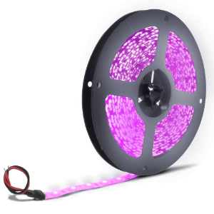 Fita LED 3528 Rosa 5 metros IP65 - À prova d'água - 24W