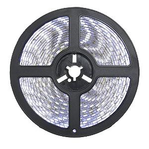 Fita LED 5050 Branco Frio 5 Metros IP65 - À prova d'água - 72W