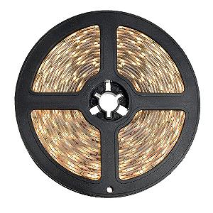Fita LED 5050 Branco Quente 5 metros IP65 - À prova d'água - 72W