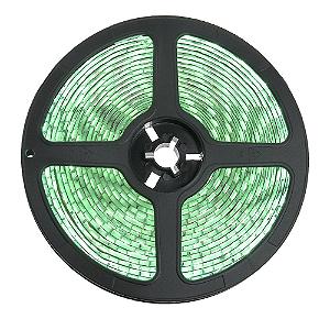 Fita LED 5050 Verde 5 Metros IP65 - À prova d'água - 72W
