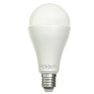 Lâmpada Bulbo LED A60 15W Bivolt Branca - Amarela | Inmetro