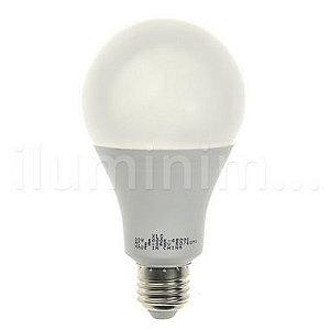 Lâmpada Bulbo LED A60 20W Bivolt Branca | Inmetro