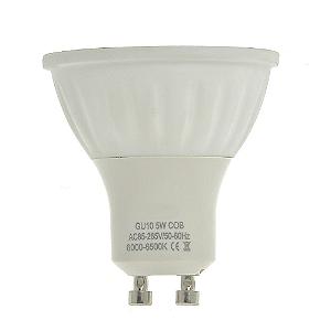 Lâmpada Dicroica LED COB GU10 5w Branco Frio | Inmetro