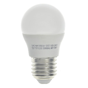 Lâmpada LED Bolinha 3w Branco Frio | Inmetro