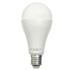 Lâmpada LED Bulbo 15W Residencial Branco Quente Bivolt | Inmetro