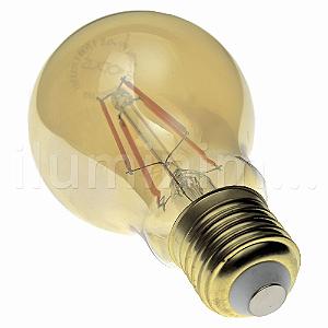Lampada LED Bulbo A60 4W Vintage Carbon Branco Quente   Inmetro