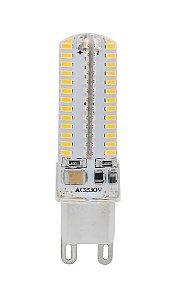 Lampada LED Halopin G9 5w Branco Frio 110V | Inmetro
