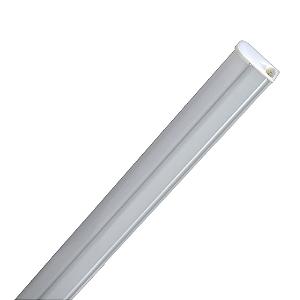 Lampada LED Tubular T5 18w - 1,20m c/ Calha - Branco Frio | Inmetro