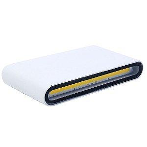 Luminária Arandela LED 12W Branco Quente Externa - Branca
