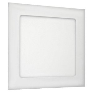 Luminária Plafon 12w LED Embutir Branco Neutro