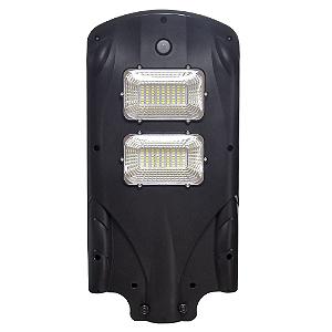 Luminária Pública Solar LED 40w Branco Frio com Sensor