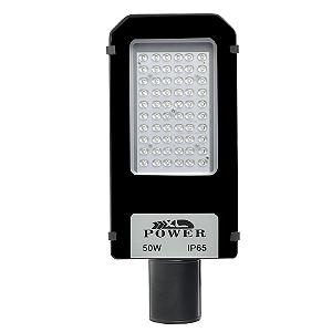 Luminária Pública Ultra LED SMD 50w Branco Frio