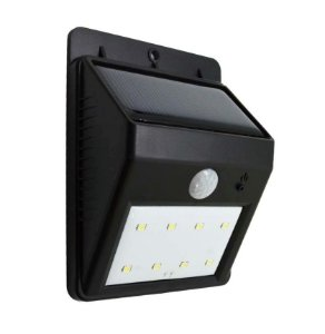 Luminaria Solar LED Sensor de Movimento 6 Leds