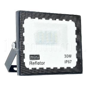 Mini Refletor Holofote LED SMD 30W Branco Frio IP67