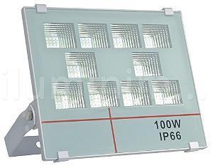 Refletor Holofote MicroLED 100W Multifocal Branco Frio
