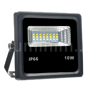 Refletor Holofote MicroLED 10W Branco Frio