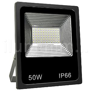 Refletor Holofote MicroLED 50W Branco Quente