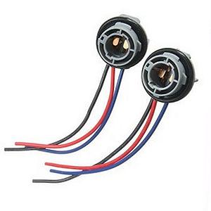 Soquete para Lâmpada LED BAY15D 2 Polos com Chicote