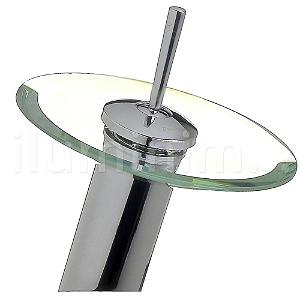 Torneira para Banheiro Bica Baixa Misturador Monocomando Vidro