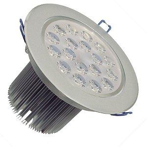Spot Dicróica 18w LED Direcionável Corpo Aluminio
