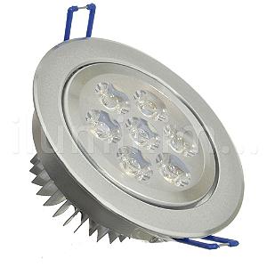 Spot Dicróica 7w LED Direcionável Corpo Aluminio