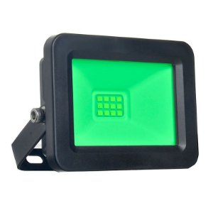 Refletor MicroLED Ultra Thin 30W Verde Black Type