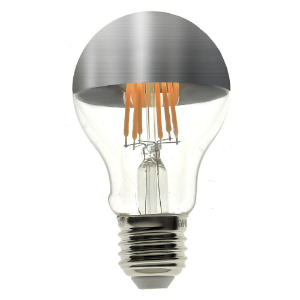 Lâmpada LED Defletora Vintage 4W A19 Branco Quente
