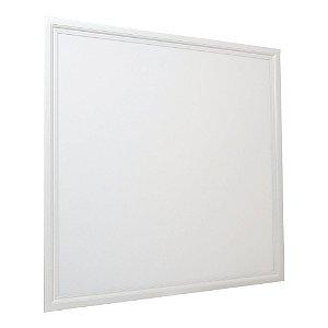 Luminária Plafon 62x62 45W LED Embutir Branco Quente