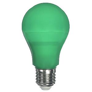 Lâmpada LED Bulbo 6W E27 Verde Bivolt