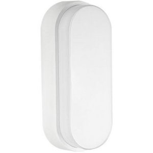 Luminária Arandela LED 12W Sobrepor Tartaruga Branco Quente Branco