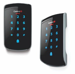 Controle de acesso IP65 ID Touch tag e senha Externo- Control iD