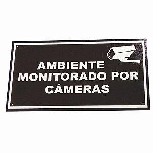 DUPLICADO - Kit 5 placas de advertência