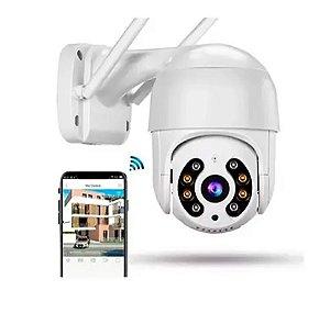 Câmera Ip Speed dome wifi 2 MP Infra Externa - HBtchec