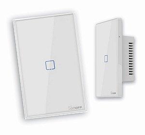 Interruptor Wifi 1 gang RF Inteligente TX-T2US1C- Sonoff