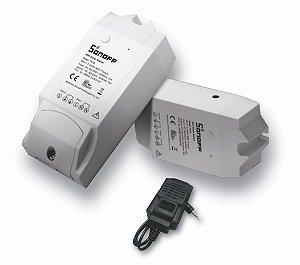 Relé wifi Interruptor Inteligente TH16 Sensor de temperatura - Sonoff