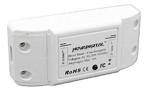 Rele wifi Interruptor Wifi Automação Residencial Original-Novadigital