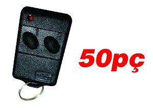 Controle remoto para portão de garagem 433mhz 50pç