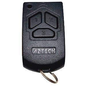Controle 433Mhz Clonável( duplicador) c/pilha - Aztech