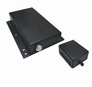 Fechadura Elétrica para portas c/pino motorizado e Centralina - Forsys