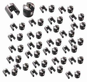 Pitão para vidro ( Suporte fenda para vidro) 8mm 100 unidades