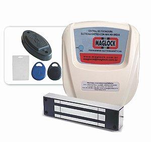 Kit Controle de acesso magnético 150kg