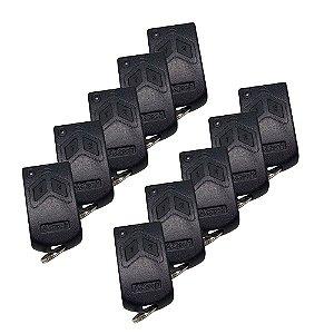 Controle Remoto Garagem 299mhz- Kit 10Pçs-s/pilha - Aztech