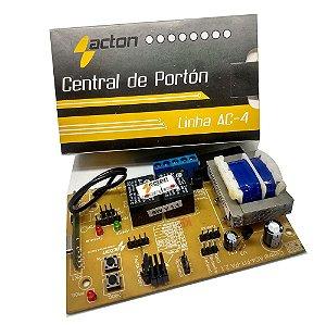 Placa Central Eletrônica Acton 433mhz Linha Ac-4 ( Rossi )