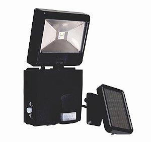 Luminária solar pequena com sensor